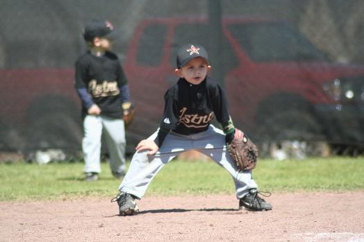 Taylor Playing 2nd Base